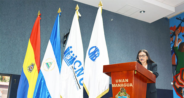 Dra. Maribel Duriez, presidenta CNEA.