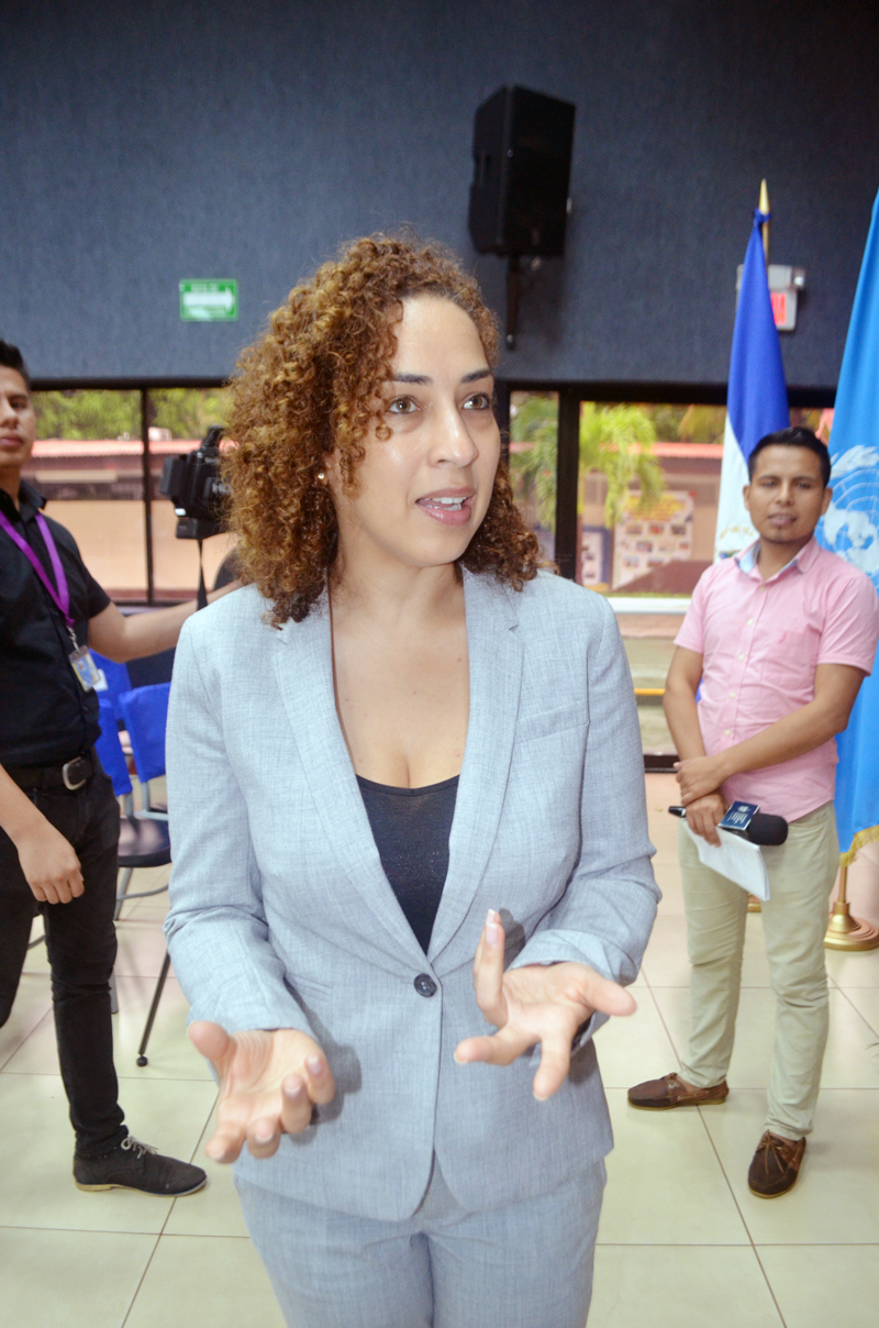 Dra. Claudia Brito, Oficial Regional de Género de esta organización.