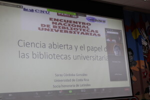 Miembro Honoraria de Latindex participa como conferencista.