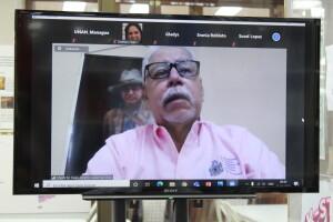Dr. Hugo Gutiérrez Ocón, Vicerrector de Docencia, participa en el encuentro en representación de la maestra Ramona Rodríguez, Rectora de la UNAN-Managua y Presidenta del CNU.