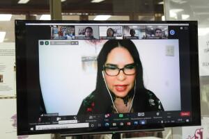 Magister Damaris Tejedor, Coordinadora del SIIDCA, abordó la situación de las bibliotecas universitarias centroamericanas ante la situación del covid-19.