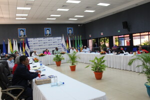 Rectores de instituciones educativas miembros del Consejo Nacional de Universidades