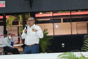 Maestro Benedicto García, Coordinador TIC del CNU.