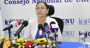 CNU informa de sus actividades mediante conferencia de prensa