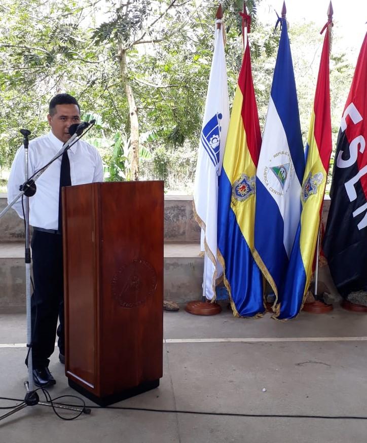 Lic. Física- Matemática, Freddy Javier Cano Umaña, mejor alumno de la UNAN-Managua.