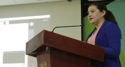 maestra Violeta Gago, Ejecutiva de la Dirección de Extensión Universitaria y Coordinadora de la Comisión de Innovación y Emprendimiento del CNU