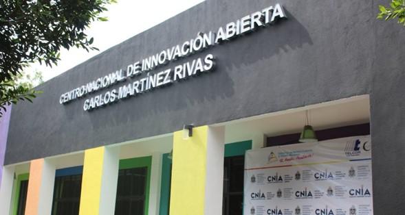 Instalaciones del Centro Nacional de Innovación Abierta en la UNAN-Managua.