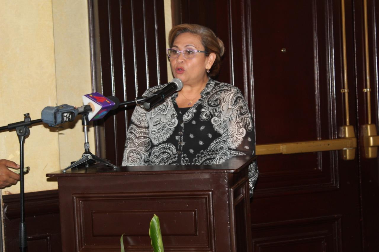 Cra. María Eunice Rivas Robleto, Secretaria Ejecutiva de CONICYT.
